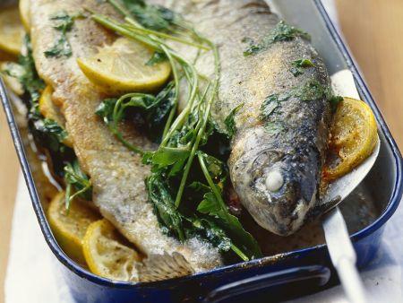 Forellen aus dem Ofen