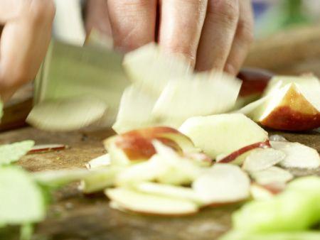 Forellenfilets in Polentakruste: Zubereitungsschritt 4
