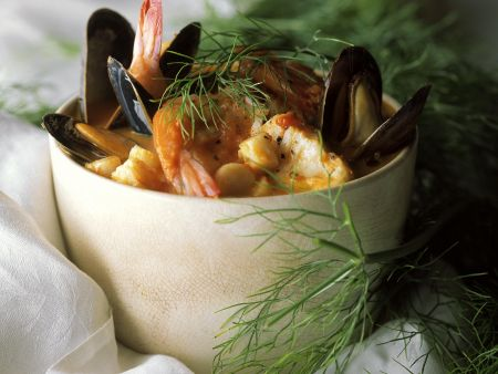 Rezept: Französische Fischsuppe (Bouillabaisse)
