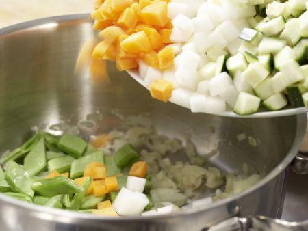 Französische Gemüsesuppe: Zubereitungsschritt 5