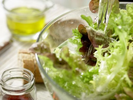 Französischer Hirtensalat: Zubereitungsschritt 1