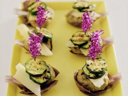 Frikadellen mit Zucchini