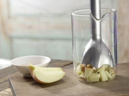 Frischer Obst-Toast mit Quark: Zubereitungsschritt 2