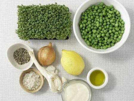 Frisches Erbsenpüree – smarter: Zubereitungsschritt 1