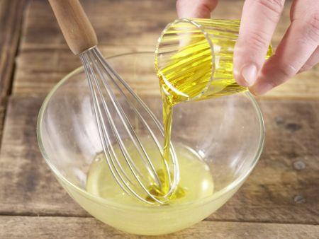Frischkäsebällchen auf Salat: Zubereitungsschritt 9