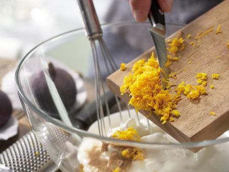 Frischkäsecreme mit Feigen: Zubereitungsschritt 5