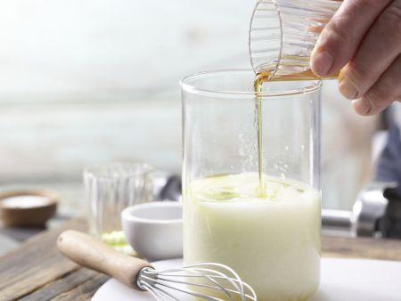 Frisée-Melonen-Salat: Zubereitungsschritt 3