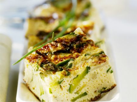 Fritatta mit Zucchini