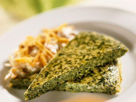 Frittata mit Spinat