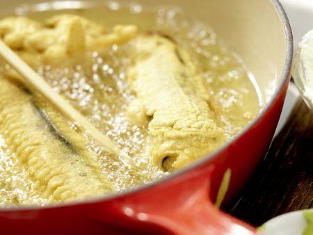Frittierte Reisrollen: Zubereitungsschritt 12