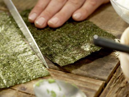 Frittierte Reisrollen: Zubereitungsschritt 6