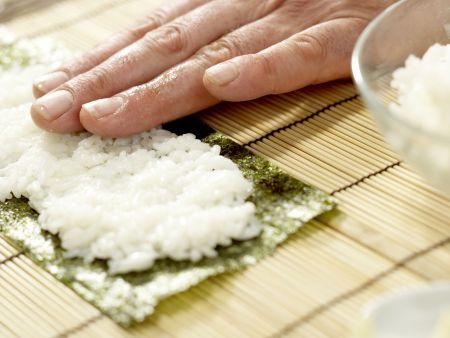 Frittierte Reisrollen: Zubereitungsschritt 7