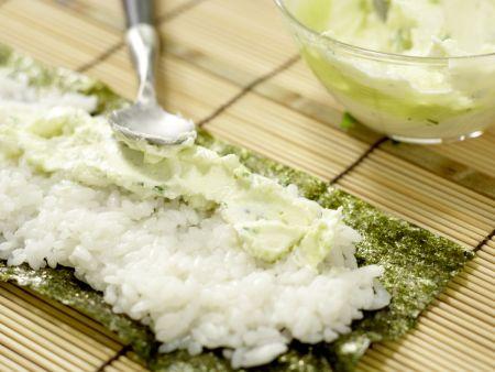 Frittierte Reisrollen: Zubereitungsschritt 8