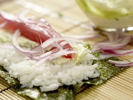 Frittierte Reisrollen: Zubereitungsschritt 9