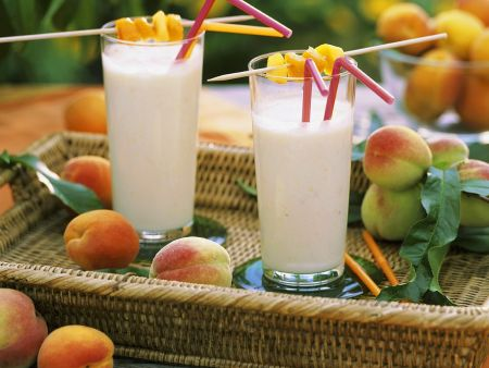 Frucht-Milchshakes