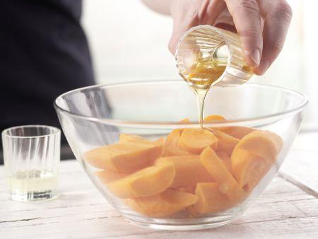 Fruchtig gefüllte Hähnchenbrust: Zubereitungsschritt 2