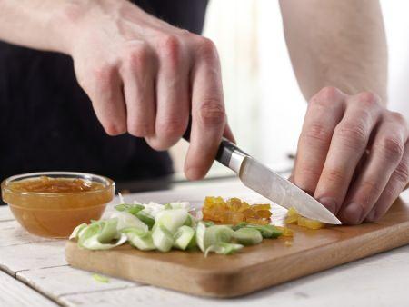 Fruchtig gefüllte Hähnchenbrust: Zubereitungsschritt 5