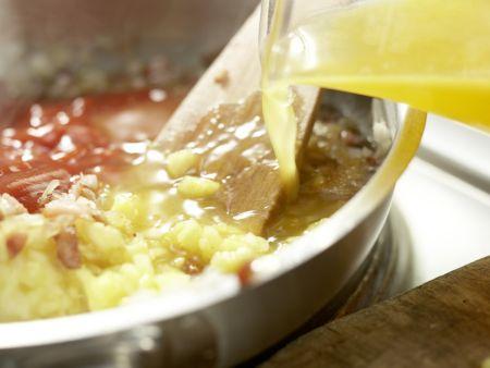 Fruchtige Barbecue-Sauce: Zubereitungsschritt 5