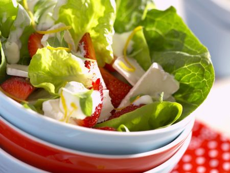 Fruchtiger grüner Salat