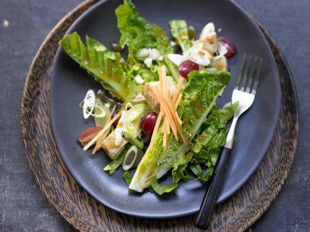 Fruchtiger Hähnchensalat