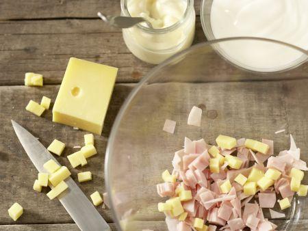 Fruchtiger Nudelsalat: Zubereitungsschritt 2
