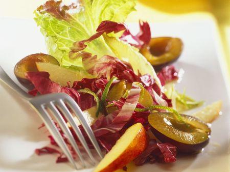 Rezept: Fruchtiger Radicchiosalat