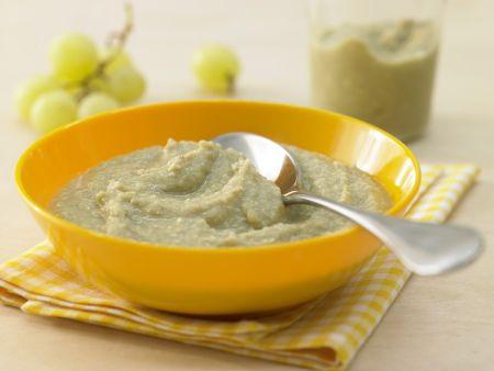 Rezept: Fruchtiger Rosenkohl-Rindfleisch-Brei