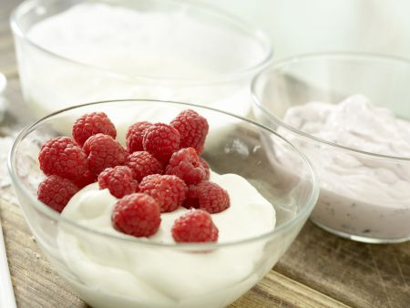 Fruchtiges Joghurteis: Zubereitungsschritt 3