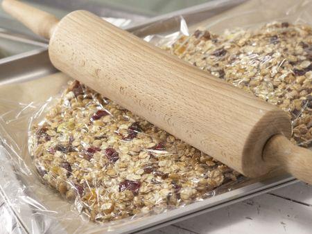 Früchtemüsli-Riegel: Zubereitungsschritt 4