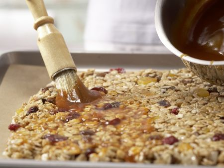 Früchtemüsli-Riegel: Zubereitungsschritt 6