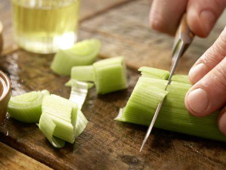 Garnelen-Gemüse-Salat: Zubereitungsschritt 3