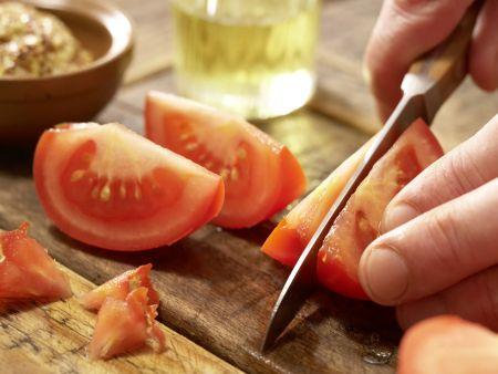 Garnelen-Gemüse-Salat: Zubereitungsschritt 7