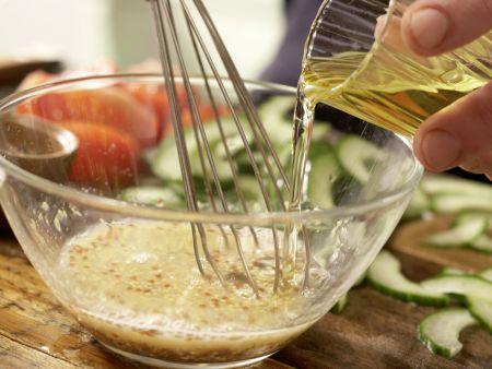Garnelen-Gemüse-Salat: Zubereitungsschritt 9