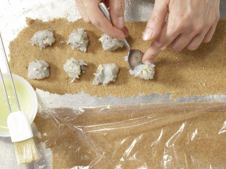 Garnelen-Ravioli: Zubereitungsschritt 4
