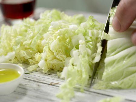 Garnelen in süß-scharfer Glasur: Zubereitungsschritt 1