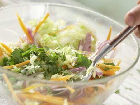 Garnelen in süß-scharfer Glasur: Zubereitungsschritt 4