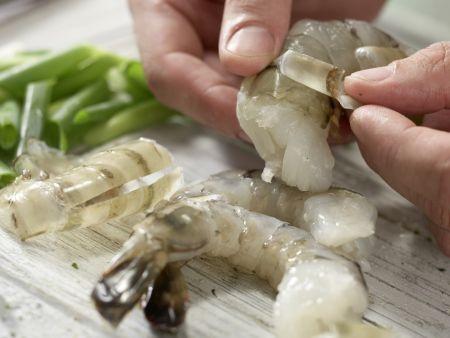 Garnelen in süß-scharfer Glasur: Zubereitungsschritt 7