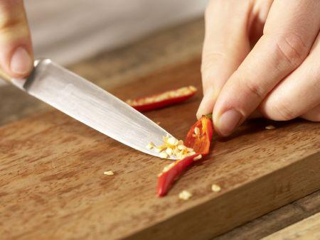 Garnelensalat: Zubereitungsschritt 3