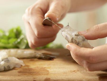 Garnelensalat: Zubereitungsschritt 5