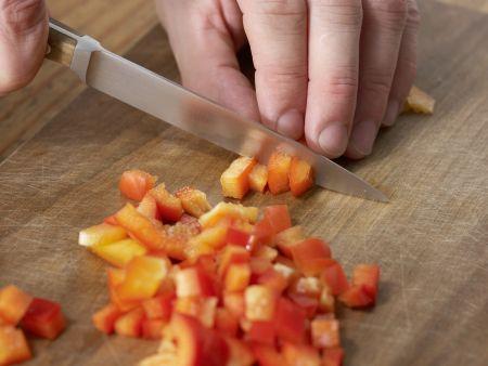 Gazpacho mit Weißbrot: Zubereitungsschritt 4
