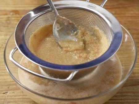 Gazpacho mit Weißbrot: Zubereitungsschritt 7