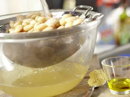 Gebackene Bohnen: Zubereitungsschritt 1