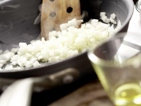 Gebackene Bohnen: Zubereitungsschritt 2