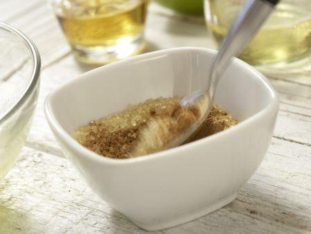 Gebackene Honigbananen: Zubereitungsschritt 1