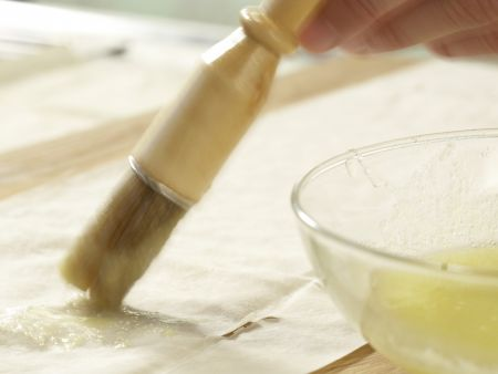 Gebackene Honigbananen: Zubereitungsschritt 2