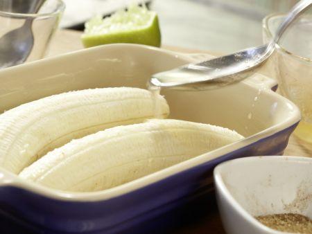 Gebackene Honigbananen: Zubereitungsschritt 8