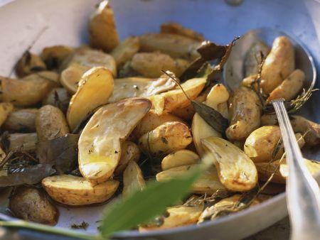 Gebackene Kräuterkartoffeln nach französischer Art