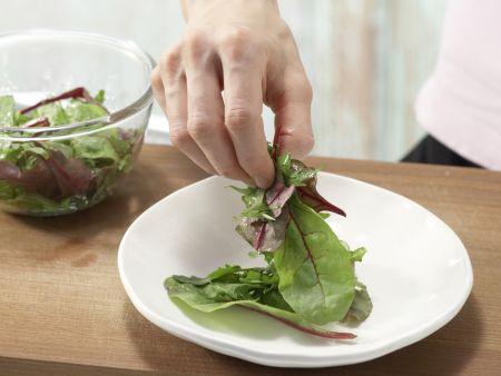 Gebackene Mairüben mit Sesamkruste: Zubereitungsschritt 8