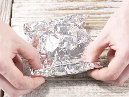 Gebackene Schafskäse-Päckchen: Zubereitungsschritt 7
