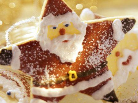 Gebackener Weihnachtsmann